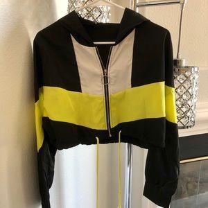 Shein cropped jacket